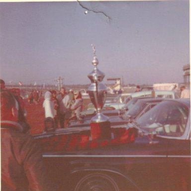 Richard Petty's Daytona 500 Trophy, 1964