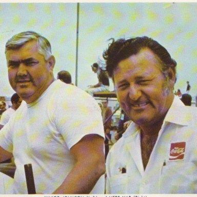 Junior Johnson & Herb Nab