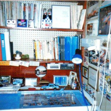 Legend's Petty Desk