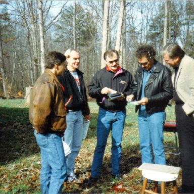 Tim Leeming and Richard Petty, Petty Enterprises, 1992
