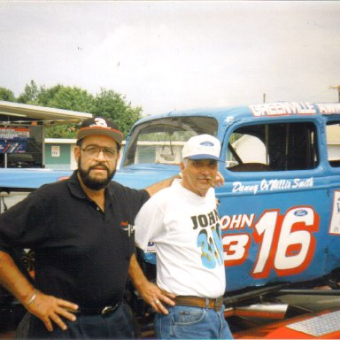 Joe Penland and Willis Smith, Greenville-Pickens Speedway