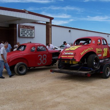 Legends Night at Farley Race track