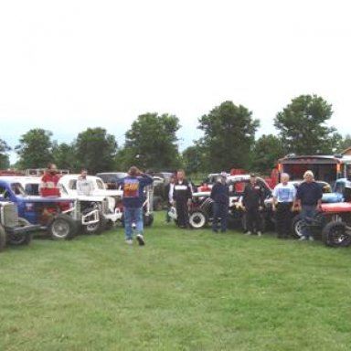 Cars and Members of Midwest Jalopies