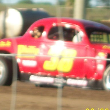 On the track at Tipton