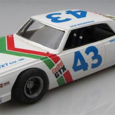 DonBiederman 43 CastrolChevelle 1971 Late Model season