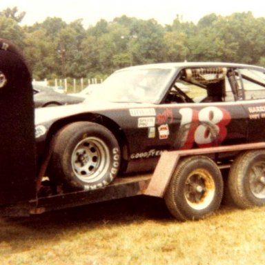 Billy Adkins LMS 1979 Langley Speedway