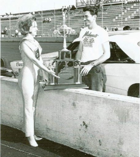 Bobby Allison and Ms. MGR