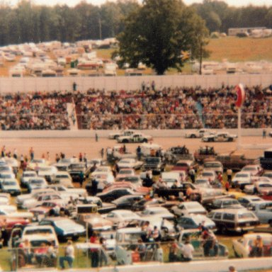 1981 Old Dominion 500 lineup