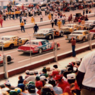 1981 Old Dominion 500 lineup 2