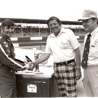 Bobby Allison and Bud Moore