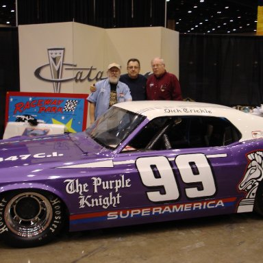 Ron Jelinek, Bill Jarvis, Pat Finley Lettered Trickle Car Photo By Art