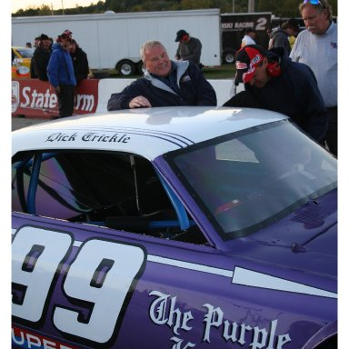 Lacrosse Speedway 2008 #99 & Dick Trickle Photo By Gregg