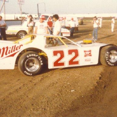 Bobby Allison on Dirt