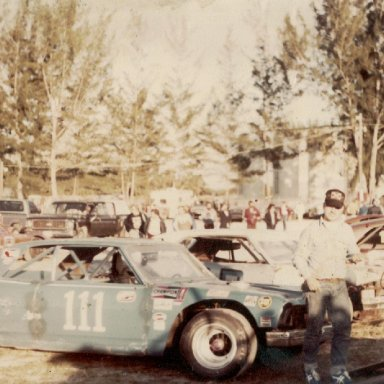 Rusty Russell at paim beach speedway at 25