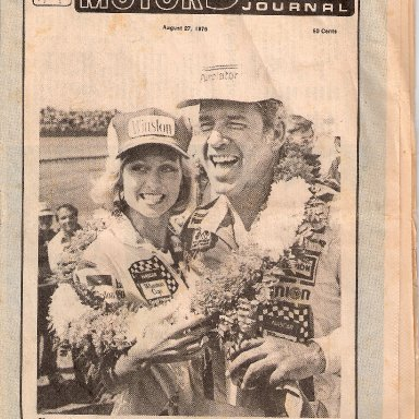 Cover Souther Motor Sports Journal Pearson
