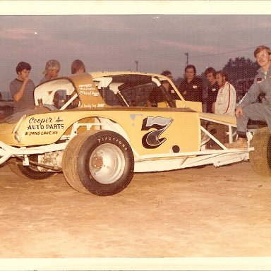 Frank Hager 1973 at Lebanon Valley