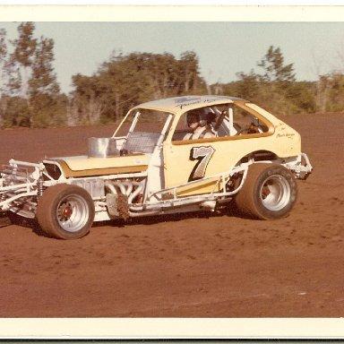 Frank Hager 1977 at Weedsport Speedwy