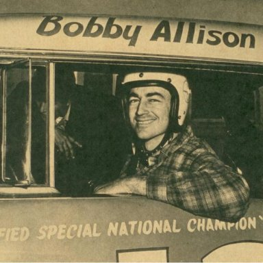 Bobby Allison-with Vent Window!