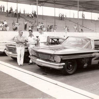 1960 Southern 500 Front Row