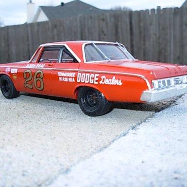 Bobby Isaac 64 Dodge NASCAR