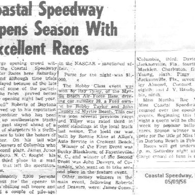 Coastal Spdwy Article 1956