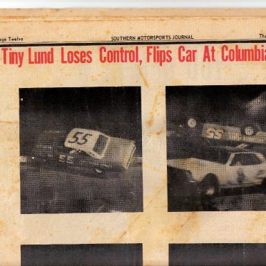 Tiny Lund at Columbia speedway 67