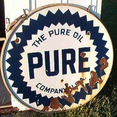 Emailing: My Pure Oil Sign