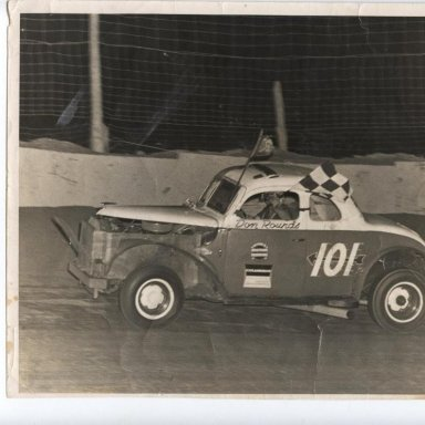 Don Rounds feature win -Lebanon Valley N Y May,1961