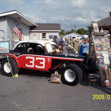 Bill Wimble coupe at Utica Rome