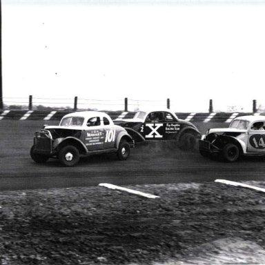 Waterford Speedbowl feature win 1951