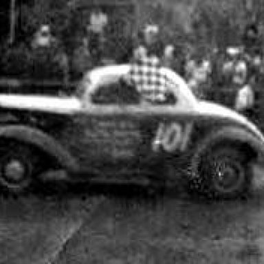 Feature win Cheshire Fairgrounds 1955