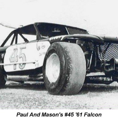 Paul Radford and Mason'63 Falcon