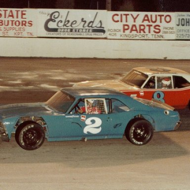 2-Dave Marcis/8-Dale Earnhardt