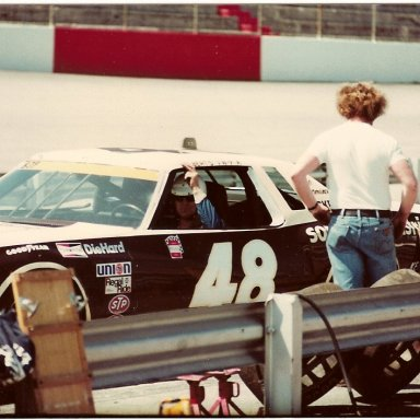 Al Holbert at Bristol