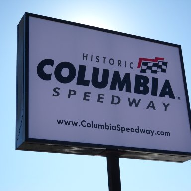 Historic Columbia Speedway Sign
