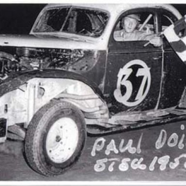 Paul Doig 1956 STSCC Winner