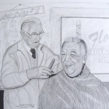 Ray gets a Hair cut