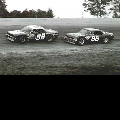 98-Jody Ridley/88-Donnie Allison