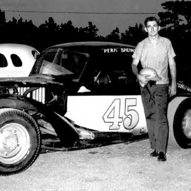 Bobby Allison with William Mason's #45 coupe