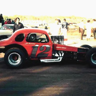 Gil Hearne creation dirt/asphalt coupe