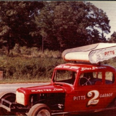 My #41 coupe back in the late 60's when it raced in AL.