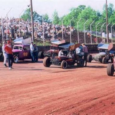Supers & Skeeters at Athens Speedway in GA.