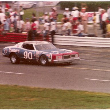 Dick Brooks in the #90 Donlavey Ford at Charlotte
