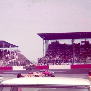 1976 Southern 500 Driver Introductions - Cale Yarborough(11) & Richard Petty(43)