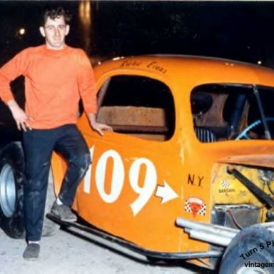 Richie before the days of the #61, John Bisci, Turn 5 photo