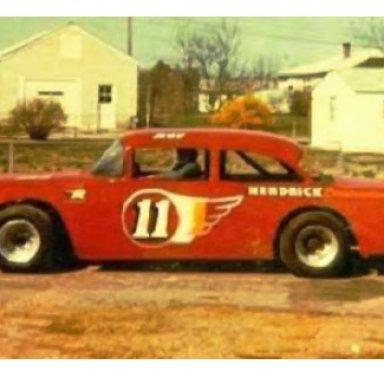 Roy Hendrick 55 Chevy, Hendrick Family photo