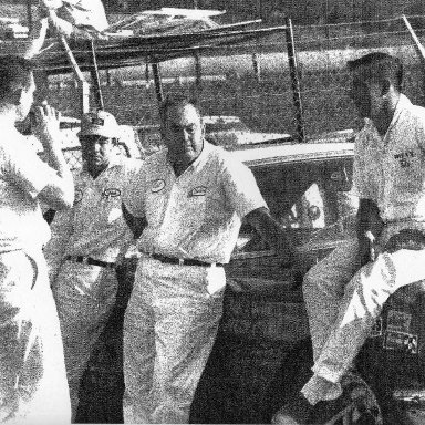 Billy, Marion Cox and crew