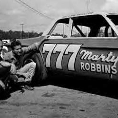 Marty and another Mopar late model