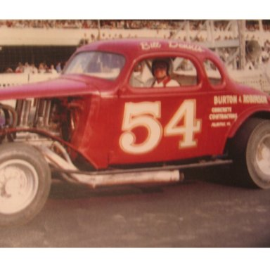 Bill Dennis, Burton & Robinson coupe