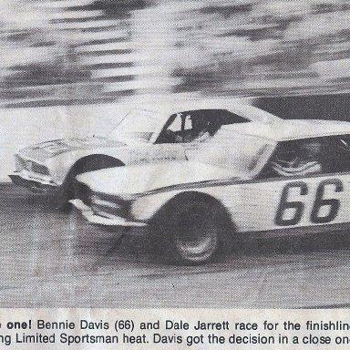 Benny Davis & Dale Jarret